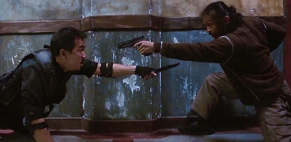 And that's why you never bring a gun to a knife fight.