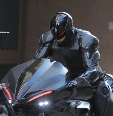 I'm sorry...what's wrong with a cyborg on a motorcycle. again?