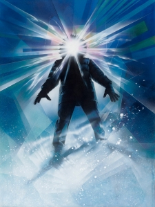 Drew Struzan's iconic poster image for John Carpenter's The Thing.