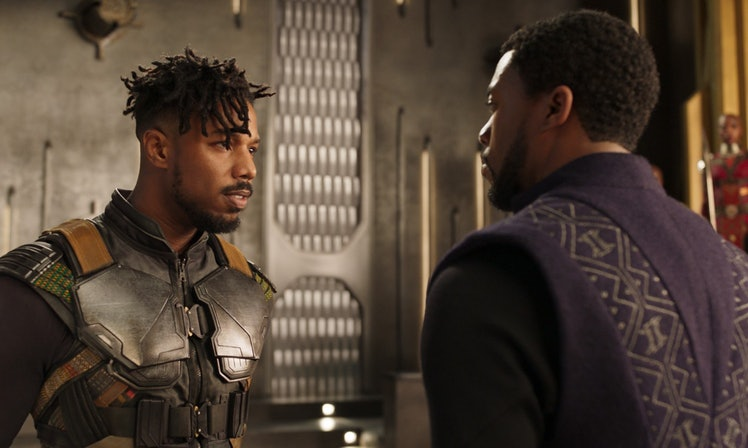 T'Challa and Erik